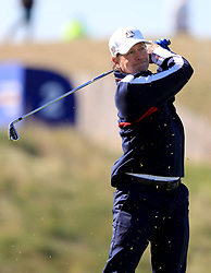 Team USA's Greg Kinnear during the 2018 Ryder Cup Celebrity Match at Le Golf National, Saint-Quentin-en-Yvelines, Paris.