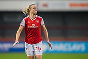 Louise Quinn (Arsenal) during the Brighton and Hove Albion Women vs Arsenal Women, FA WSL Cup at The People's Pension Stadium, Crawley, England on 3 November 2019.