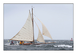 Day two of the Fife Regatta,Passage race to Rothesay.<br /> <br /> Oblio, Gordon Turner, GBR, Gaff Cutter, Wm Fife 3rd, 2007<br /> * The William Fife designed Yachts return to the birthplace of these historic yachts, the Scotland's pre-eminent yacht designer and builder for the 4th Fife Regatta on the Clyde 28th June–5th July 2013<br /> <br /> More information is available on the website: www.fiferegatta.com