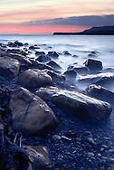 Rocky shoreline at Kimmeridge Bay, Dorset