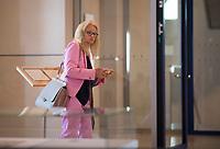DEU, Deutschland, Germany, Berlin, 11.09.2019: Dr. Kirsten Kappert-Gonther (B90/Die Grünen) am Rande einer Plenarsitzung im Deutschen Bundestag.