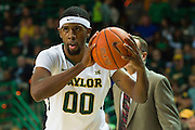WACO, TX - JANUARY 24: Royce O'Neale #00 of the Baylor Bears brings the ball up court against the Oklahoma Sooners on January 24, 2015 at the Ferrell Center in Waco, Texas.  (Photo by Cooper Neill/Getty Images) *** Local Caption *** Royce O'Neale