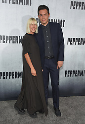 August 28, 2018 - Hollywood, California, U.S. - John Boyd and Nicole Vicius arrives for the premiere of the film 'Peppermint' at the Regal Cinemas LA Live theater. (Credit Image: © Lisa O'Connor/ZUMA Wire)