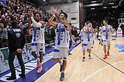 DESCRIZIONE : Campionato 2014/15 Serie A Beko Dinamo Banco di Sardegna Sassari - Acqua Vitasnella Cantu'<br /> GIOCATORE : Dinamo Banco di Sardegna Sassari Team<br /> CATEGORIA : Ritratto Esultanza<br /> SQUADRA : Dinamo Banco di Sardegna Sassari<br /> EVENTO : LegaBasket Serie A Beko 2014/2015<br /> GARA : Dinamo Banco di Sardegna Sassari - Acqua Vitasnella Cantu'<br /> DATA : 28/02/2015<br /> SPORT : Pallacanestro <br /> AUTORE : Agenzia Ciamillo-Castoria/L.Canu<br /> Galleria : LegaBasket Serie A Beko 2014/2015