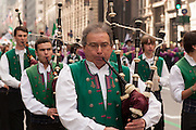 Pipers from Bagad Plougastell in Brittany.
