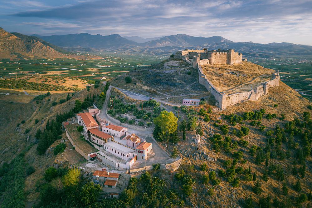 Larisa Castle at Argos, Greece