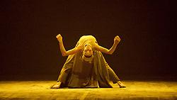 English National Ballet <br /> Triple Bill<br /> at Sadler's Wells, London, Great Britain <br /> rehearsal <br /> 7th September 2015 <br /> <br /> Dust<br /> by Akram Khan <br /> <br /> Tamara Rojo <br /> <br /> <br /> Photograph by Elliott Franks <br /> Image licensed to Elliott Franks Photography Services
