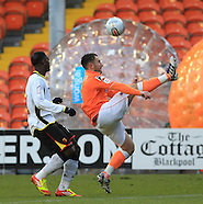 Blackpool v Watford 171211