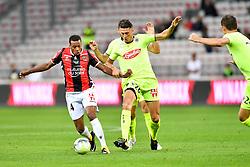 September 22, 2017 - Nice, France - 26 Mehdi TAHRAT (sco) - 14 ALASSANE PLEA  (Credit Image: © Panoramic via ZUMA Press)