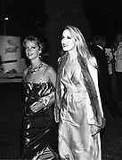 Sabrina Guinness and Jerry Hall. Berkeley Square Ball. 16 July 1984.  SUPPLIED FOR ONE-TIME USE ONLY> DO NOT ARCHIVE. © Copyright Photograph by Dafydd Jones 66 Stockwell Park Rd. London SW9 0DA Tel 020 7733 0108 www.dafjones.com