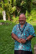 Arai-Te-Tonga, Koutu, Marae, temple, Rarotonga, Cook Islands, South Pacific