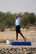 Abu Dhabi, United Arab Emirates (UAE). .March 20th 2009..Al Ghazal Golf Club..36th Abu Dhabi Men's Open Championship..Miki Mirza