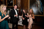 MARK BLANKERTZ; LIZZIE SAUL; NATALIE JOEL, Charity Dinner in aid of Caring for Courage The Royal Scots Dragoon Guards Afganistan Welfare Appeal. In the presence of the Duke of Kent. The Royal Hospital, Chaelsea. London. 20 October 2011. <br /> <br />  , -DO NOT ARCHIVE-© Copyright Photograph by Dafydd Jones. 248 Clapham Rd. London SW9 0PZ. Tel 0207 820 0771. www.dafjones.com.