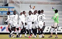 Fotball<br /> U20 Ghana v Nederland<br /> Foto: Dppi/Digitalsport<br /> NORWAY ONLY<br /> <br /> FOOTBALL - UNDER 20 - INTERNATIONAL TOULON FESTIVAL - 01/06/2007 - GHANA v NETHERLANDS - GHANA TEAM ILLUSTRATION