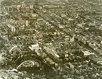 1931 Looking SE at Hollywood from just north of Franklin Ave. & La Brea Ave.