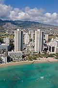 Hyatt, Waikiki Beach, Waikiki, Oahu, Hawaii<br />
