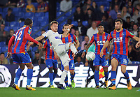 Football - 2017 / 2018 EFL (League) Cup - Second Round: Crystal Palace vs. Ipswich Town<br /> <br /> Shane McLoughlin of Ipswich fends off the Palace defence, at Selhurst Park.<br /> <br /> COLORSPORT/ANDREW COWIE