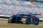 January 5-7, 2018. IMSA Weathertech Series ROAR before 24 test. 24 BMW Team RLL, BMW M8 GTLM, Jesse Krohn, John Edwards, Nicky Catsburg, Augusto Farfus