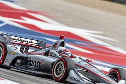 March 22, 2019 - Austin, Texas, U.S. - WILL POWER (12) of Australia goes through the turns during practice for the INDYCAR Classic at Circuit Of The Americas in Austin, Texas. (Credit Image: © Walter G Arce Sr Asp Inc/ASP)