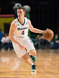 March 20, 2017 - Reno, Nevada, U.S - Reno Bighorn Guard DAVID STOCKTON (4) during the NBA D-League Basketball game between the Reno Bighorns and the Texas Legends at the Reno Events Center in Reno, Nevada. (Credit Image: © Jeff Mulvihill via ZUMA Wire)