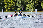 Race: 45  W.MasE.2x  Wallingford Rowing Club vs Exeter/Cappoquin Composite<br /> <br /> Henley Masters Regatta 2019 - Friday<br /> <br /> To purchase this photo, or to see pricing information for Prints and Downloads, click the blue 'Add to Cart' button at the top-right of the page.