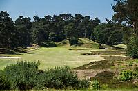 Bosch en Duin -  Hole 16. Droogte op Golf Club de Pan. COPYRIGHT KOEN SUYK