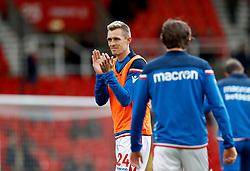 Stoke City's Darren Fletcher during warm-up