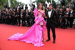 May 22, 2019 - Cannes, Provence-Alpes-Cote d'Azu, France - 72eme Festival International du Film de Cannes. Montée des marches du film ''Roubaix, une lumiere (Oh Mercy!)''. 72th International Cannes Film Festival. Red Carpet for ''Roubaix, une lumiere (Oh Merci!)'' movie.....239726 2019-05-22 Provence-Alpes-Cote d'Azur Cannes France.. Rae, Lorena (Credit Image: © Philippe Farjon/Starface via ZUMA Press)