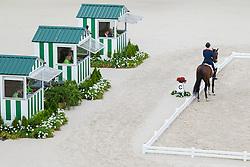 Hans Peter Minderhoud, (NED), Glock's Johnson N.O.P. - Grand Prix Team Competition Dressage - Alltech FEI World Equestrian Games™ 2014 - Normandy, France.<br /> © Hippo Foto Team - Leanjo de Koster<br /> 25/06/14