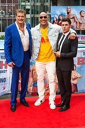 May 30, 2017 - Berlin, Berlin, Deutschland - David Hasselhoff, Dwayne Johnson und Zac Efron beim Photocall zum Kinofilm 'Baywatch' im Sony Center. Berlin, 30.05.2017 (Credit Image: © Future-Image via ZUMA Press)