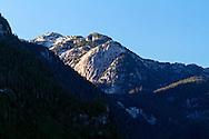 Widgeon Peak stands the Widgeon Valley in Pitt Meadows, British Columbia, Canada