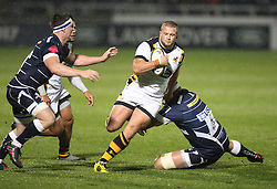 Tom Cruse of Wasps in action - Mandatory by-line: Jack Phillips/JMP - 04/11/2016 - RUGBY - AJ Bell Stadium - Sale, England - Sale Sharks v Wasps - The Anglo-Welsh Cup