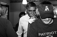 U.S. President Barack Obama has a beer at the Common Man restaurant in Merrimack, New Hampshire, October 27, 2012.