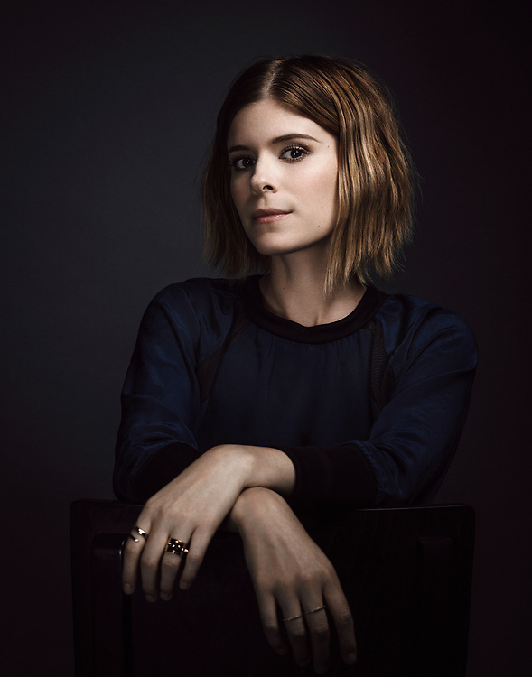 Actress Kate Mara poses for a portrait after filming a public service announcement for the Humane Society of the United States, Tuesday, Sept. 23, 2014, in Los Angeles. (Bret Hartman/AP Images for The Humane Society of the United States)