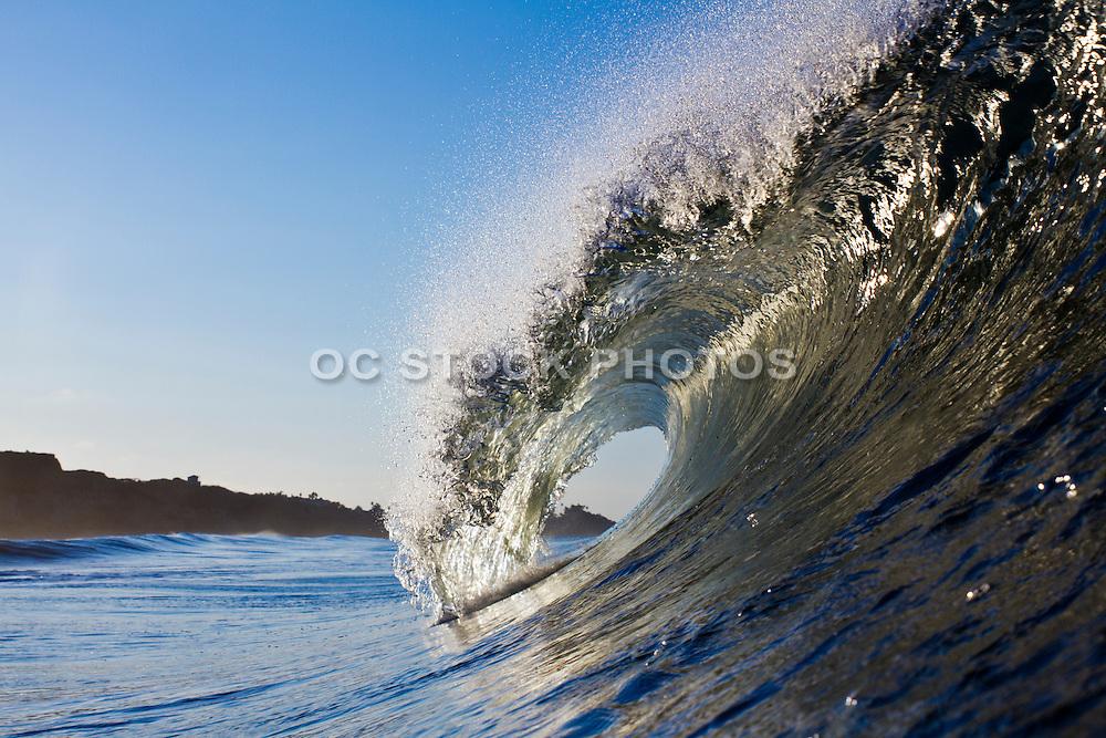 Sunrise Waves Crashing in San Clemente