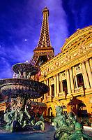 Paris Las Vegas Hotel/Casino on Las Vegas Boulevard, Las Vegas, Nevada USA