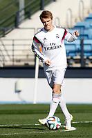 Real Madrid Castilla´s Martin Odegaard during 2014-15 Spanish Second Division match between Real Madrid Castilla and Barakaldo at Alfredo Di Stefano stadium in Madrid, Spain. February 21, 2015. (ALTERPHOTOS/Caro Marin)