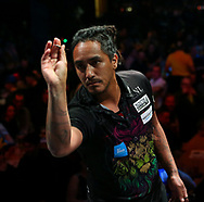 Darren Herewini during the BDO World Professional Championships at the O2 Arena, London, United Kingdom on 4 January 2020.
