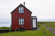 Flatey Island in Breidafjord, Iceland