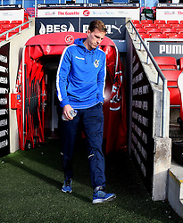 Joe Partington of Bristol Rovers arrives at Highbury Stadium - Mandatory by-line: Matt McNulty/JMP - 14/01/2017 - FOOTBALL - Highbury Stadium - Fleetwood, England - Fleetwood Town v Bristol Rovers - Sky Bet League One