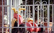 Retro America - Kids Big Wheel on front porch.
