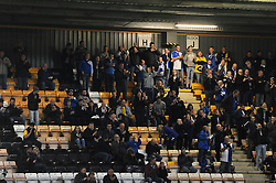 Bristol Rovers fans make the trip to Cambridge United on a friday evening - Mandatory byline: Dougie Allward/JMP - 07966 386802 - 30/10/2015 - FOOTBALL - The Abbey Stadium - Cambridge, England - Cambridge United v Bristol Rovers - Sky Bet League Two