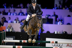 Geerink Sander, NED, Bentley N<br /> Jumping Indoor Maastricht 2016<br /> © Hippo Foto - Dirk Caremans<br /> 12/11/2016