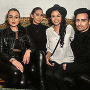 Amel Rachedi, Jade Ashaa is an actress Suki Rae is a DJ and guest attend The Bachelor UK 2019 launch night - The girls private screening on Channel 5 at Beach Blanket Babylon on 4 March 2019, London, UK