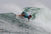 29 April 2011: Nick Vasicek surfs at Snapper Rocks on the Gold Coast. Photo by Matt Roberts