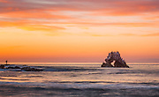 Arch Rock at Sunset Corona Del Mar California
