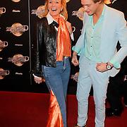 NLD/Amsterdam/20120217 - Premiere Saturday Night Fever, Ferry Doedens en manager