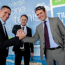20140604: SLO, Tennis - Press conference of ATP Challenger Tilia Slovenia Open 2014