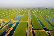 Nederland, Vinkeveen, 20190322<br /> Veenweidegebied bij Demmerik, rond Vinkeveen. Weilanden, slootjes en natuurgebieden.<br /> <br /> Foto (c) Michiel Wijnbergh