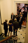 "John Swannell, Nancy Dell'Olio and The Italian Ambasador, Launch of  –My Beautiful Game"" by Nancy DellêOlio<br />